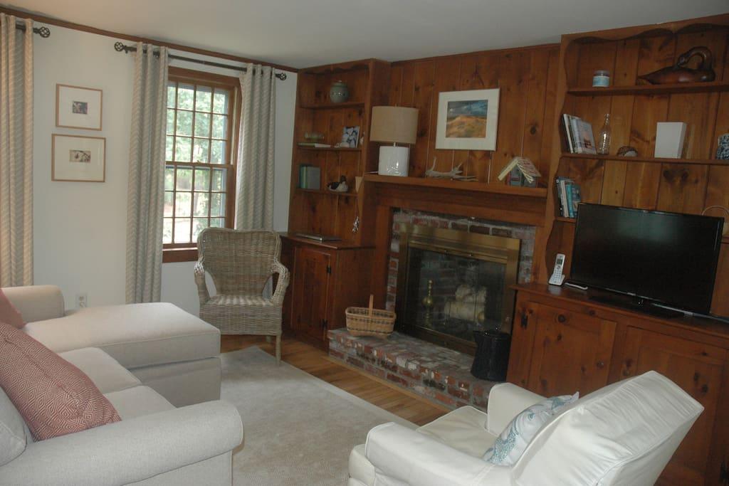 Warm cozy living room