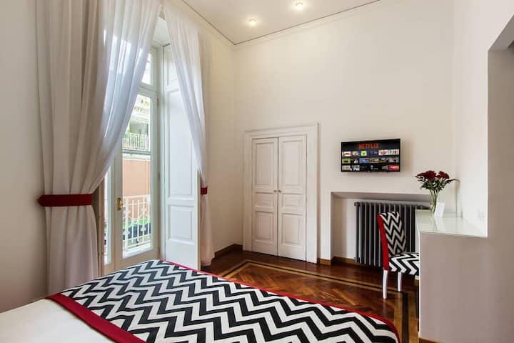 2 Chambres avec balcon