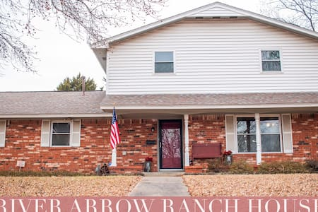 River Arrow Ranch House-4 min from PW Mercantile