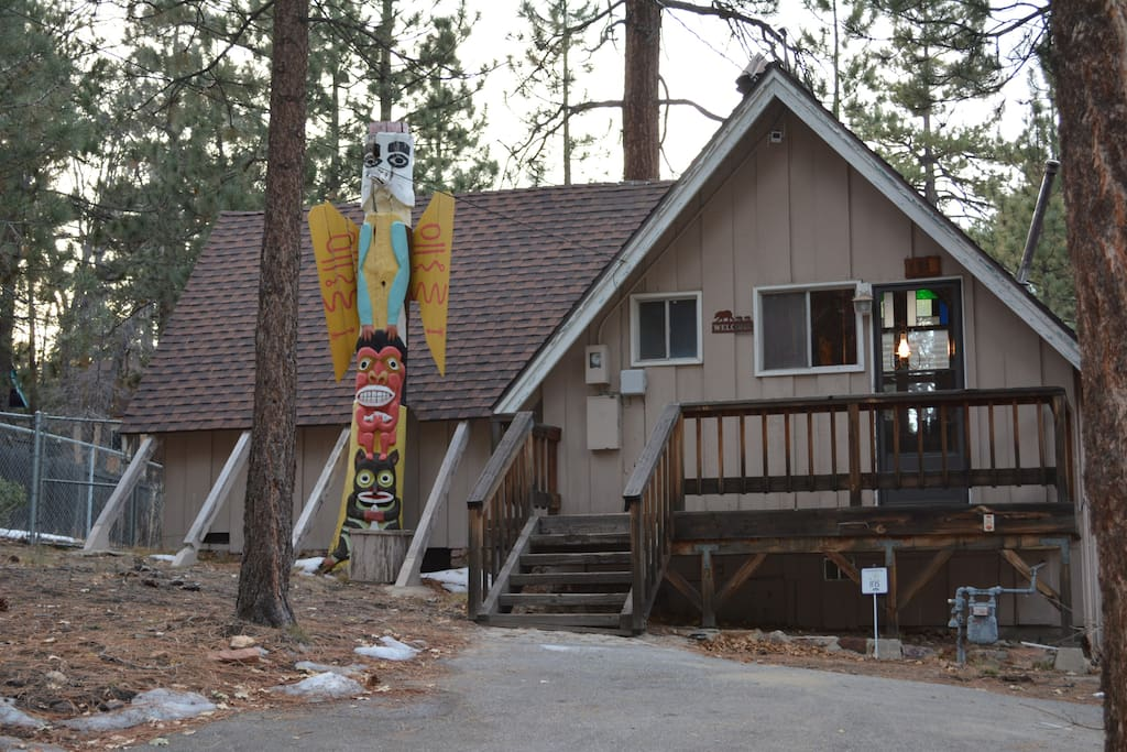 Modern cabin and camping houses for rent in big bear for Cabin for rent in big bear ca