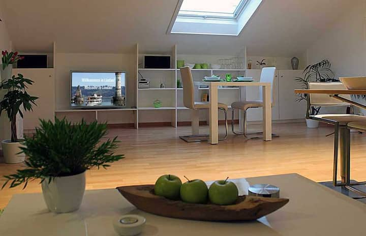 Ferienwohnung Familie Lindner, (Lindau am Bodensee), Ferienwohnung 3, 38qm, 1 Schlafzimmer, max. 2 Personen