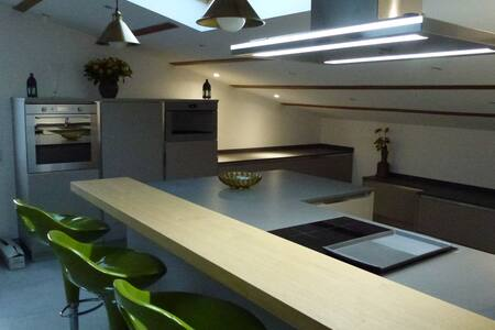 Environs de Nice, bel appartement neuf mansardé - Saint-Blaise - Leilighet