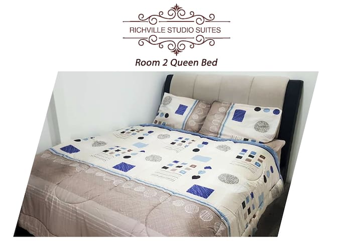 Richville Studio Suite 2 : Queen Bed