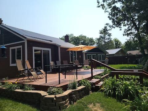 Colfax Cabin on Tainter
