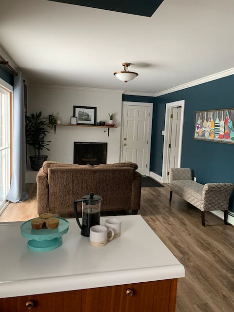 Bright spacious 3BR Cape Cod mins from downtown