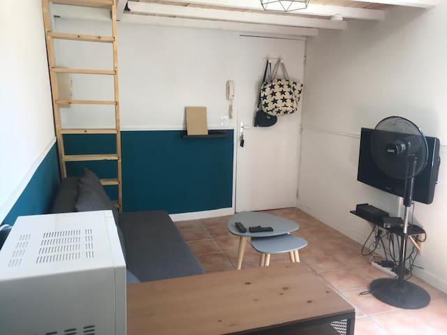 Petit studio au cœur d'Avignon