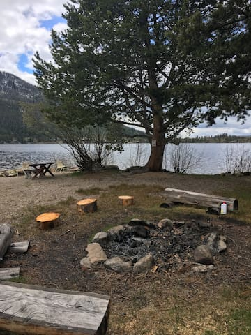 """""""The Point"""" - Private Fishing (this is not viewable from the cabin, but located on Lemmon Lodge property)"""