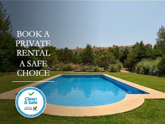 Lovely Villa Guincho Beach with shared pool