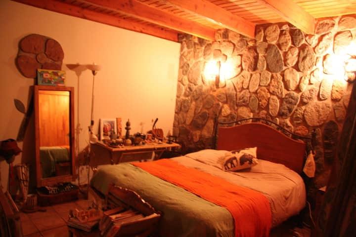 Departamento interior en casa, Cajón del Maipo