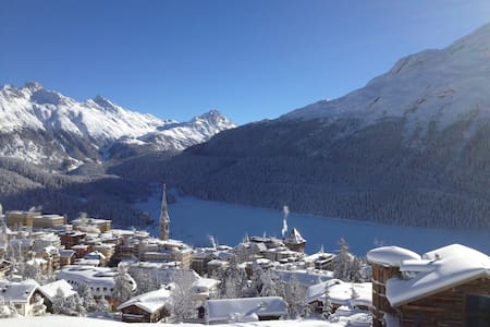 Lake view_3 bedrooms_Skii to home - Saint Moritz - Apartment