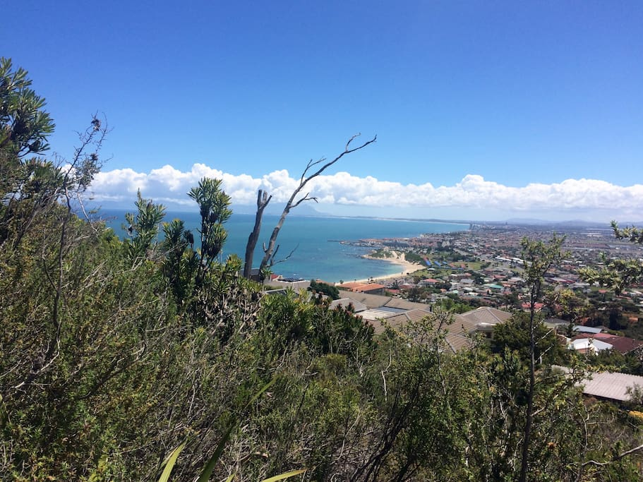 Gordons Bay from above