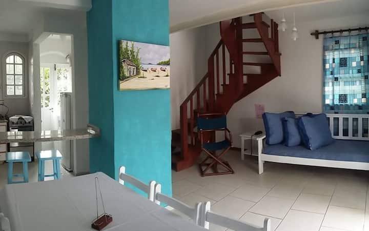 Duplex: en resort sobre la playa