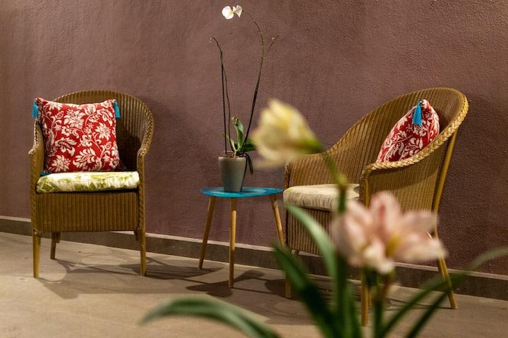 Suite boutique B&B en hacienda cerca cdmx, qro