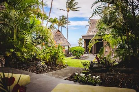 'Âlani Punalu'u Black Sand Beach oceanview retreat