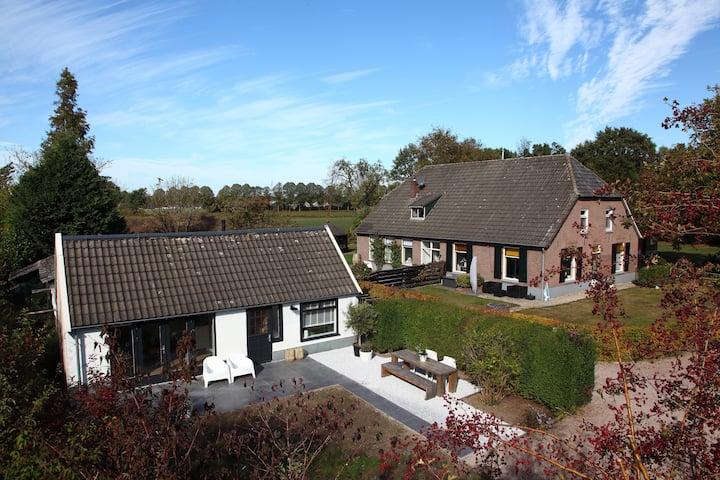 Guesthouse on our farmyard