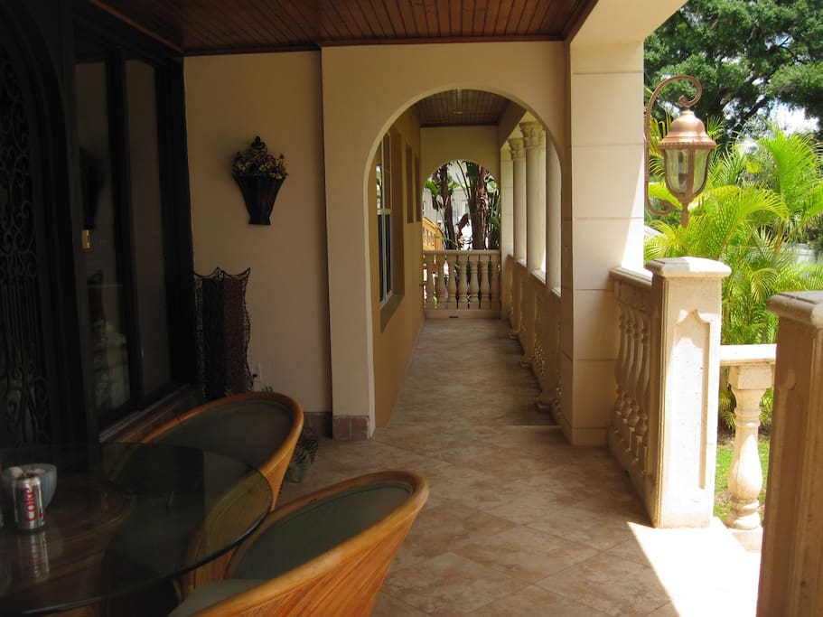 ENTRY FRONT PORCH