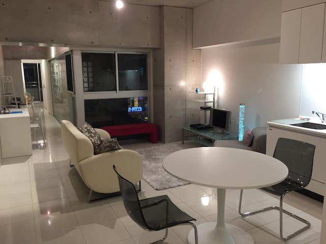 "Luxurious Japanese ""designer's"" apartment - 福岡市 - Apartamento"