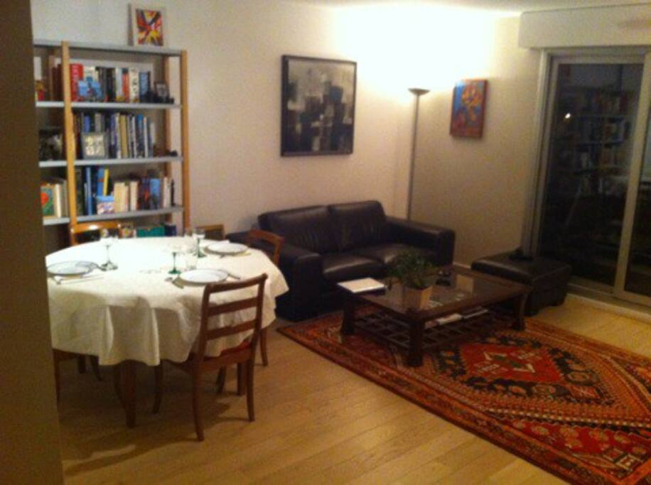 Appartement familial de standing 1 salon 2 ch - Salon de massage boulogne billancourt ...