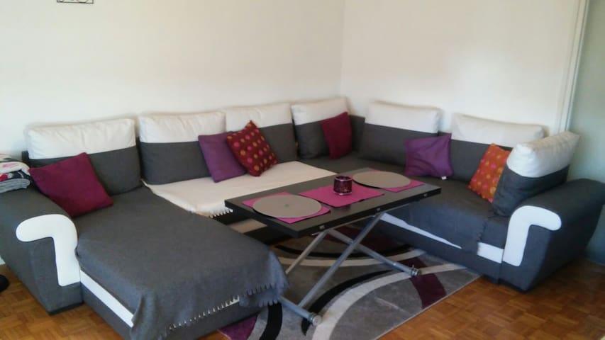 Bel Appartement Lyon Spacieux T3 - Saint-Genis-Laval