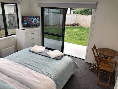 Brand new double room with all essentials