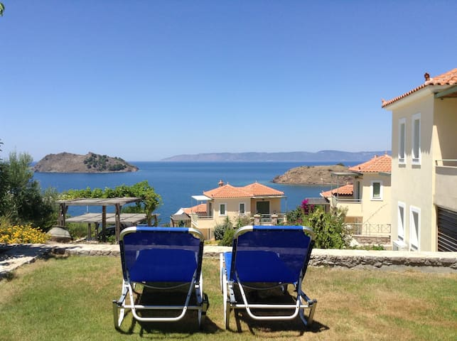 Lesvos Greek Island Apartment (1 bedroom) - Petra - Apartament