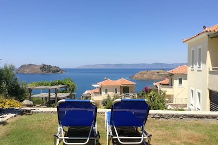 Lesvos Greek Island Apartment (1 bedroom) - Petra