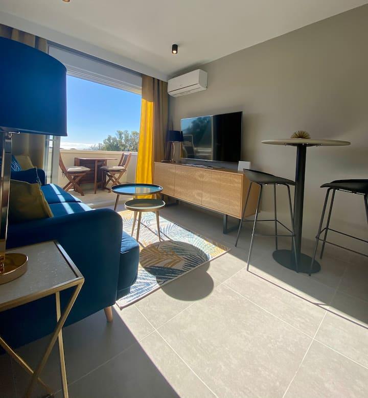 Duplex renovado de lujo Marbella- Dunas de Artola