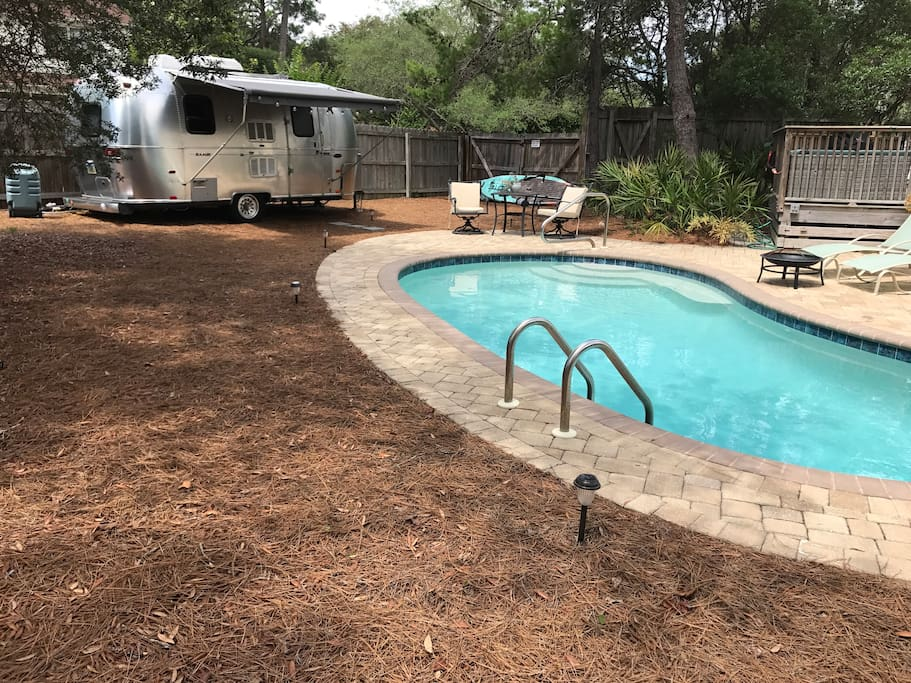 Airstream w/Saltwater Pool