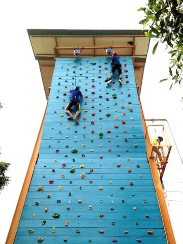 Nearest Attraction : Rock Climbing