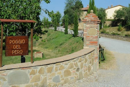 Ancient stone Farmhouse - Panicale - Apartamento