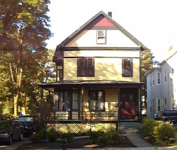 Lovely Stick style house built in 1900 - Somerville - Talo