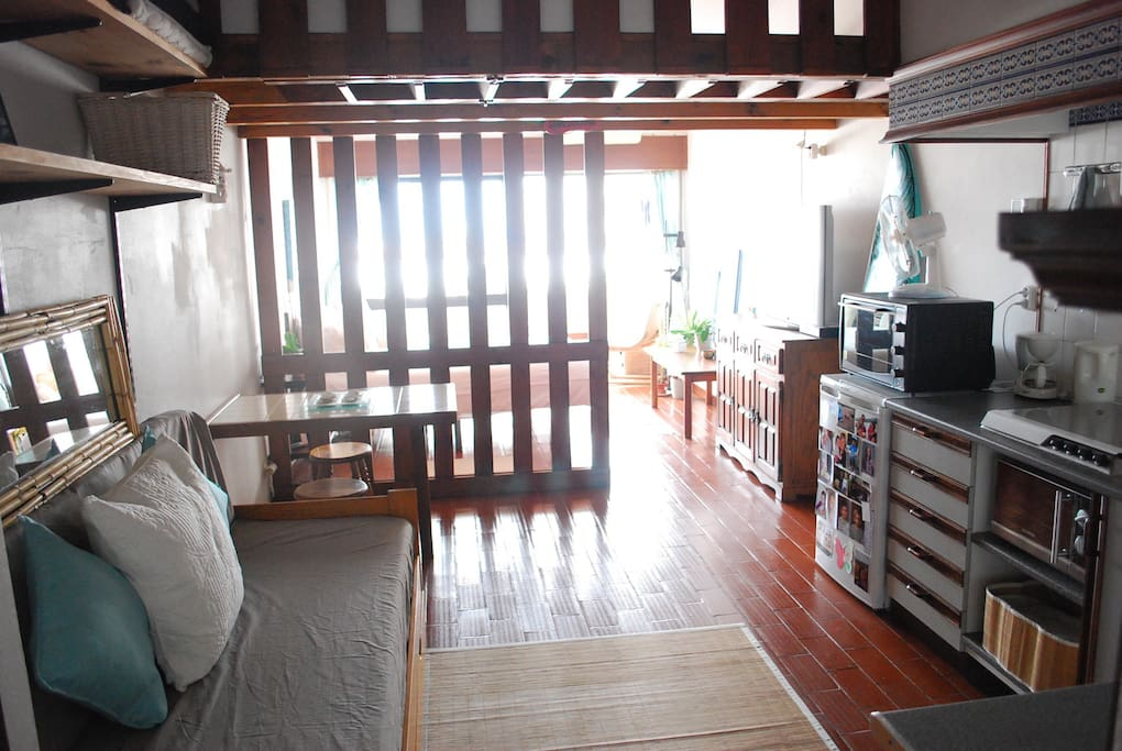Loft on upper level if preferable, mattress can be set up there