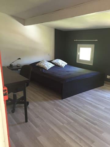 1  Chambre ou 2 dans ma maison - Baillargues - Huis