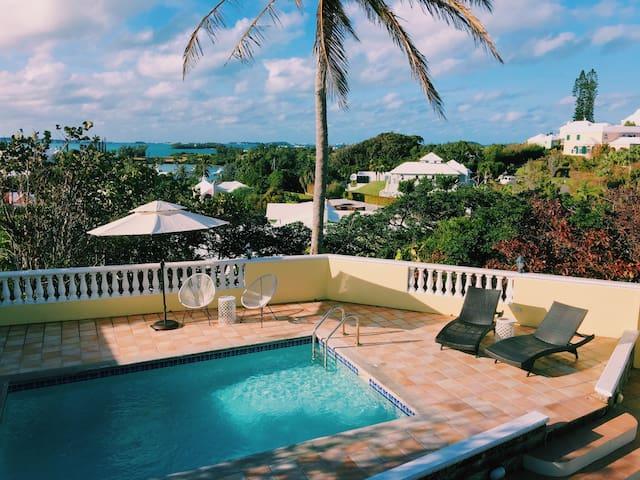 Villa at Cedar Brae - Ocean Views & Private Pool
