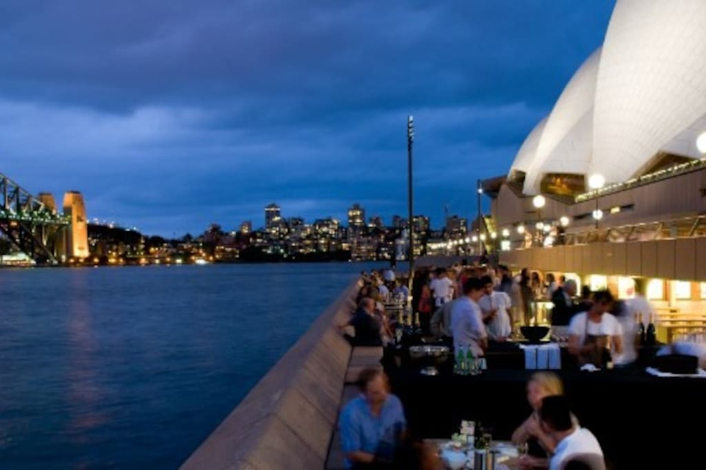 The Opera Bar is Sydney's must spot to experience fine food and drinks for locals and visitors. A stroll away.