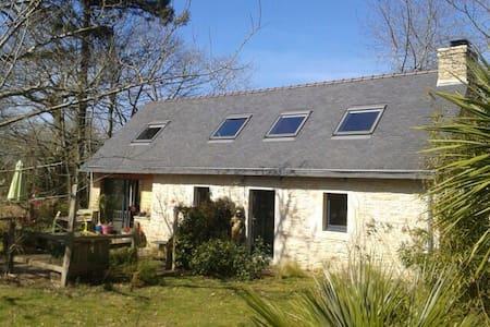 Maison en pierre et bois - Riec-sur-Bélon - Rumah