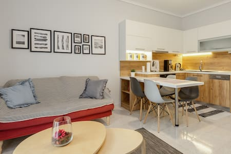 Comfortable apartment with private parking.