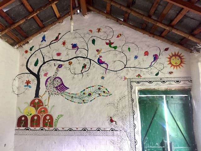 Wall painting (dining area)