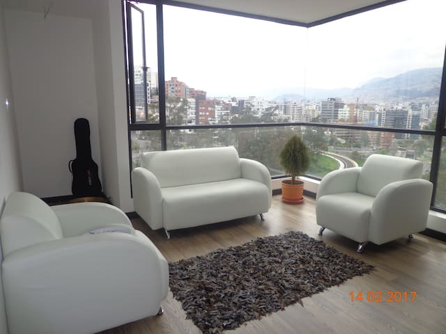 Rent master bedroom in a shared dep in Quito. - Quito