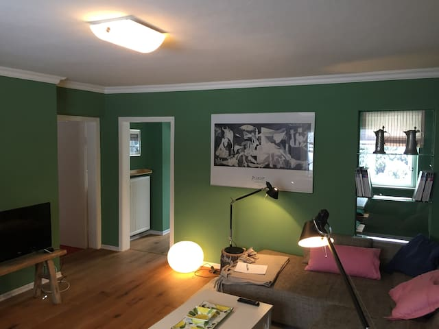 Gemütliche Wohnung (100m²) in zentraler Lage - Fieberbrunn - Apartamento