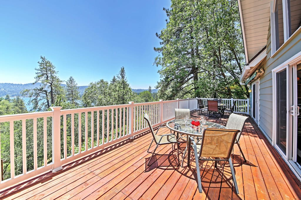 Enjoy the best of Lake Arrowhead when you stay in this gorgeous vacation rental house!