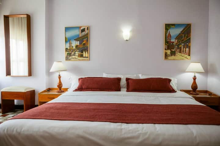Habitación Tipo Junior Suite-Hotel Bahia Cartagena