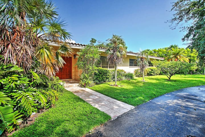 Upscale Miami Ranch-Style Home w/ Private Pool!