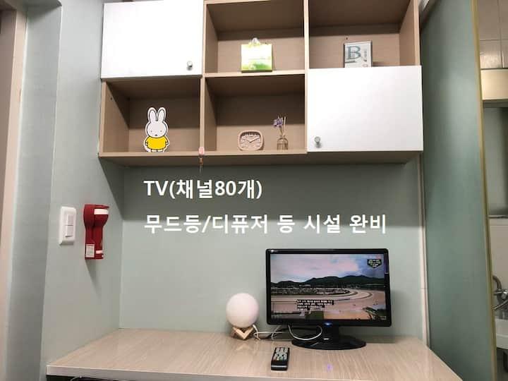 Noble Residence Deluxe Room (6) [노블레지던스]