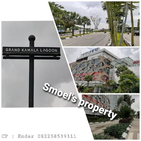 Smoel's Studio @ Grand Kamala Lagoon Apartment