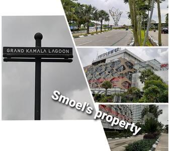 Smoel's Studio @ Grand Kamala Lagoon Apartment