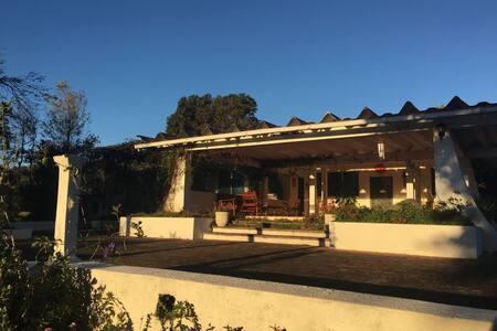 Habitación Principal - Finca Santa Maria - Juayua - Ferienunterkunft