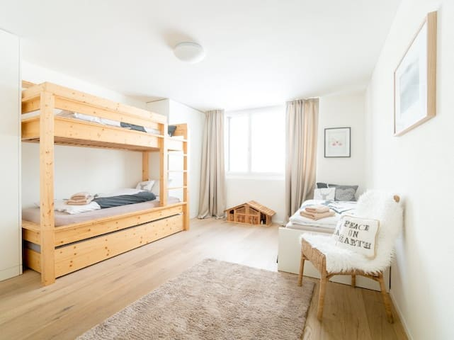 BEDROOM 4: for 3-4 persons