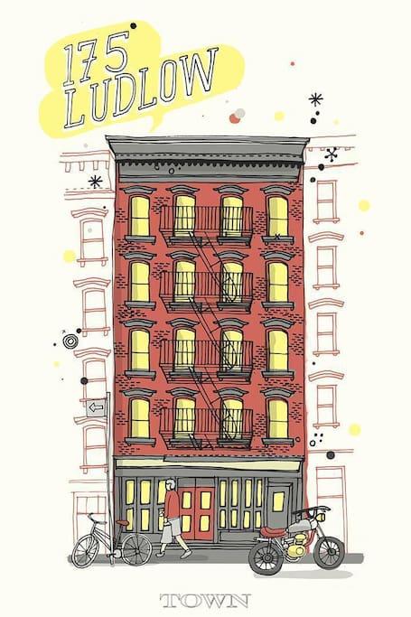 Lower east side bare bones appartamenti in affitto a for Monolocale in affitto new york