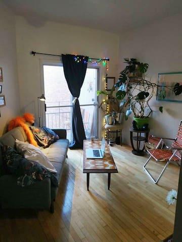 Tiny funky studio nears parcs